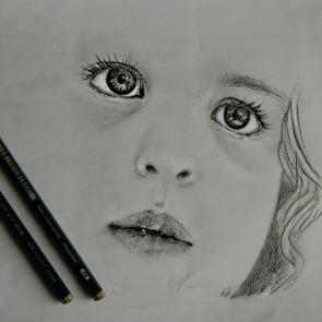Detail portret